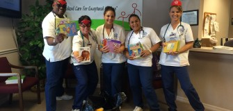 Book and toy drive June 2015