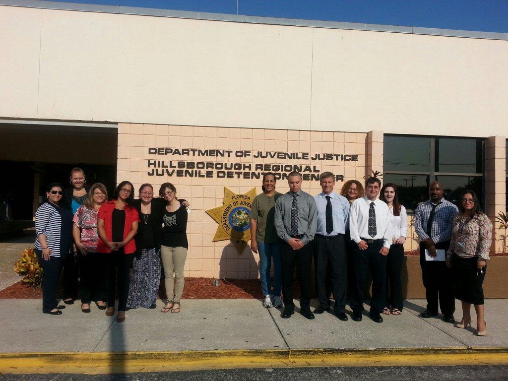 Tampa Campus Tours the Hillsborough Regional Juvenile Detention Center: Department of Juvenile Justice