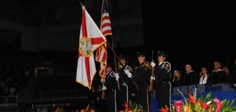KU MIA color guard June 2015