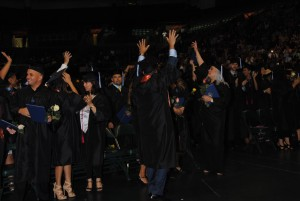 KU MIA grads celebrating June 2015