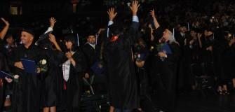 KU MIA grads celebrating June 2015