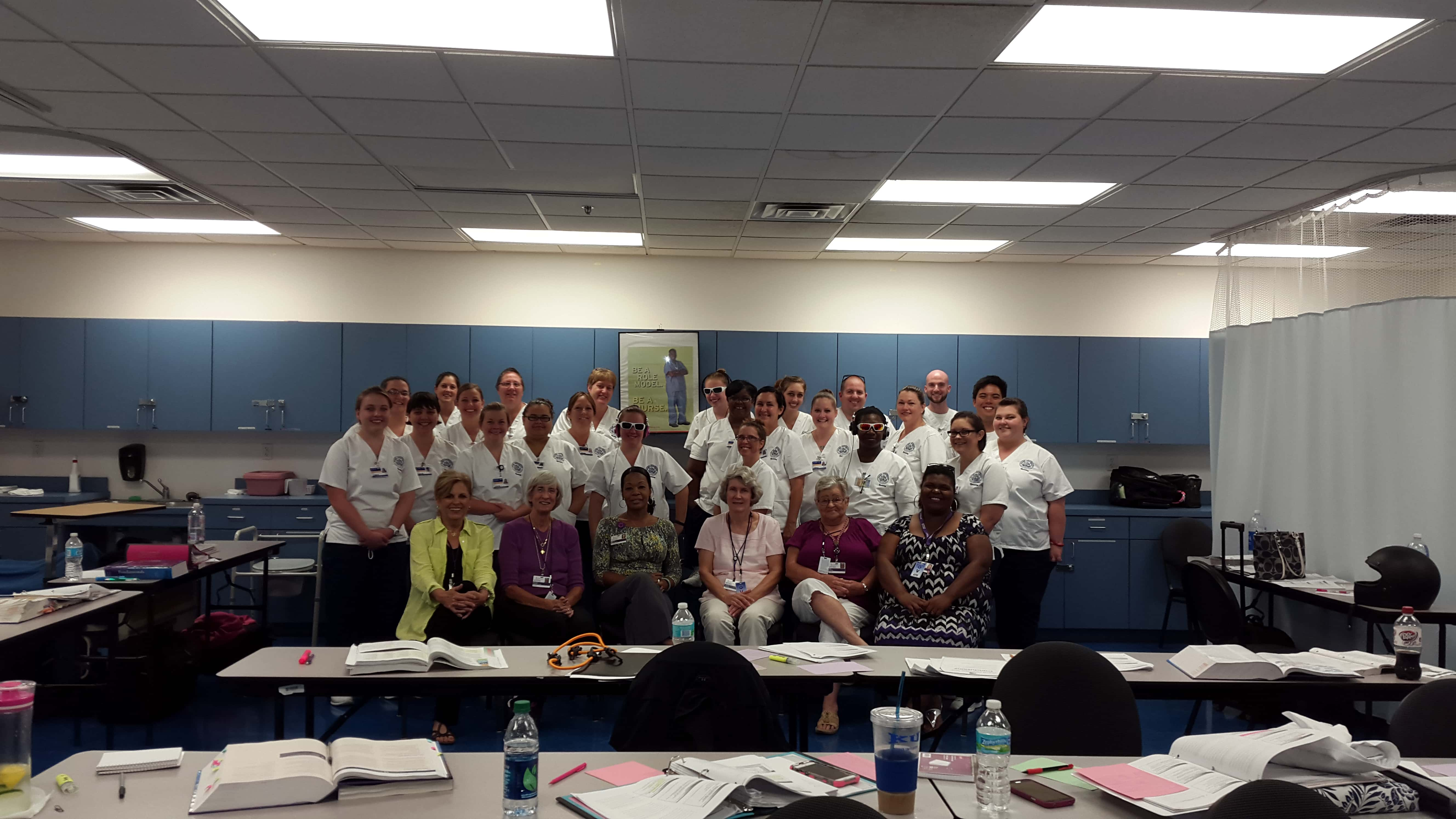 Nursing Students Participate in a Virtual Dementia Tour