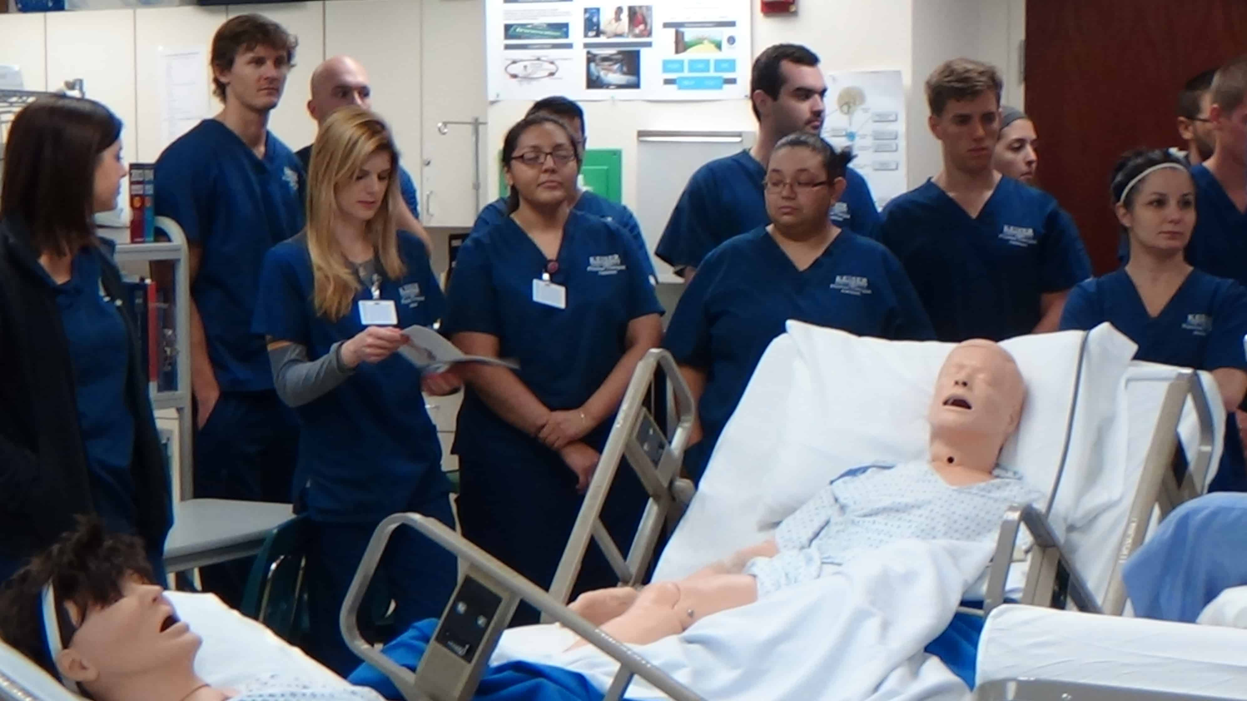 Collaborative Learning In Nursing Classroom ~ Nursing and physical therapy assistant students