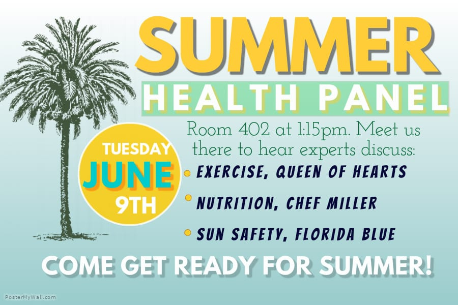 Tallahassee Holds a Summer Health Panel