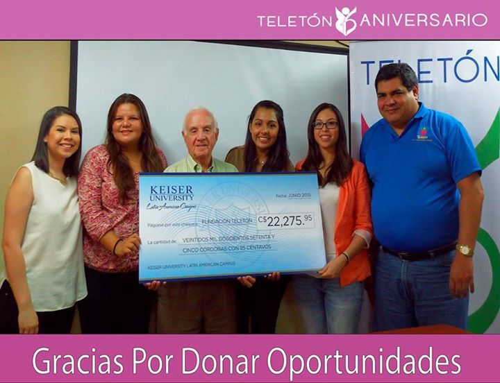 The Latin American Campus Helps Raise funds for Teletón Foundation