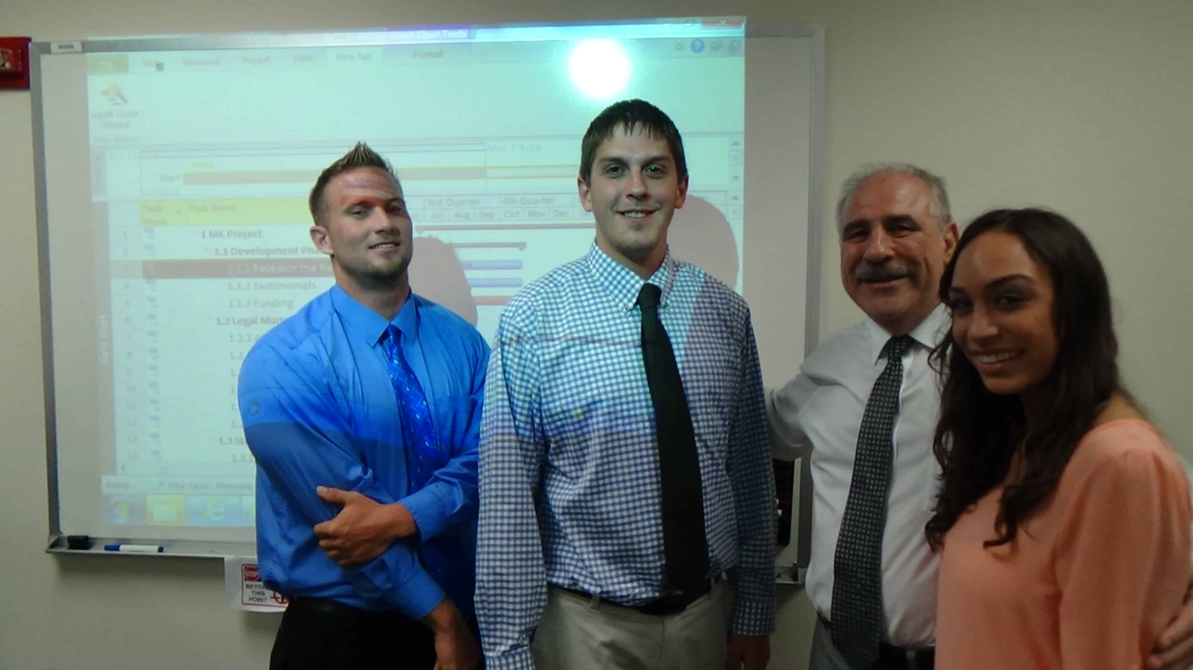 Business Students in Sarasota Present Their Final Team Project