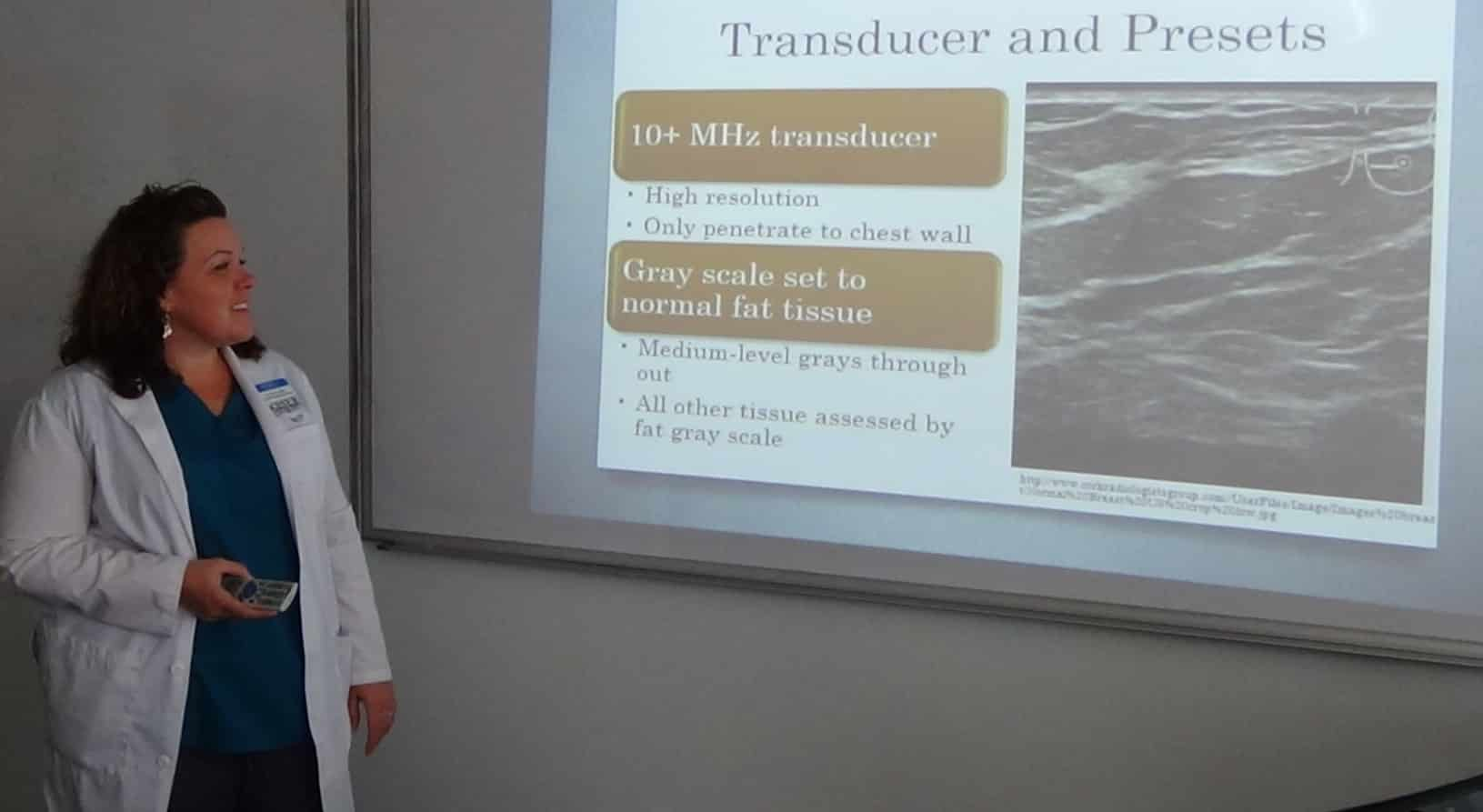 Fort Myers Faculty Member Presents To Local Hospitals