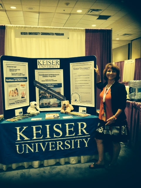 KU is Represented at the Florida Academy of Nutrition and Dietetics
