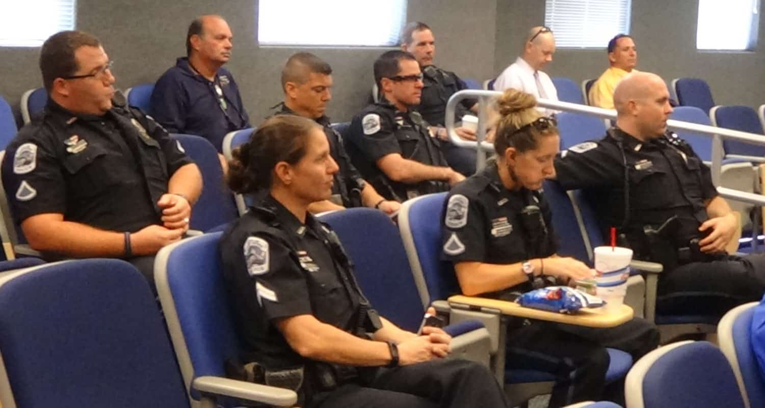The Fort Myers Campus Hosted the Fort Myers Police Department for Internal Training