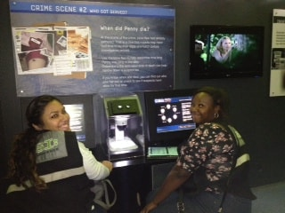 Forensic Students from Jacksonville Visit the CSI Experience in Orlando