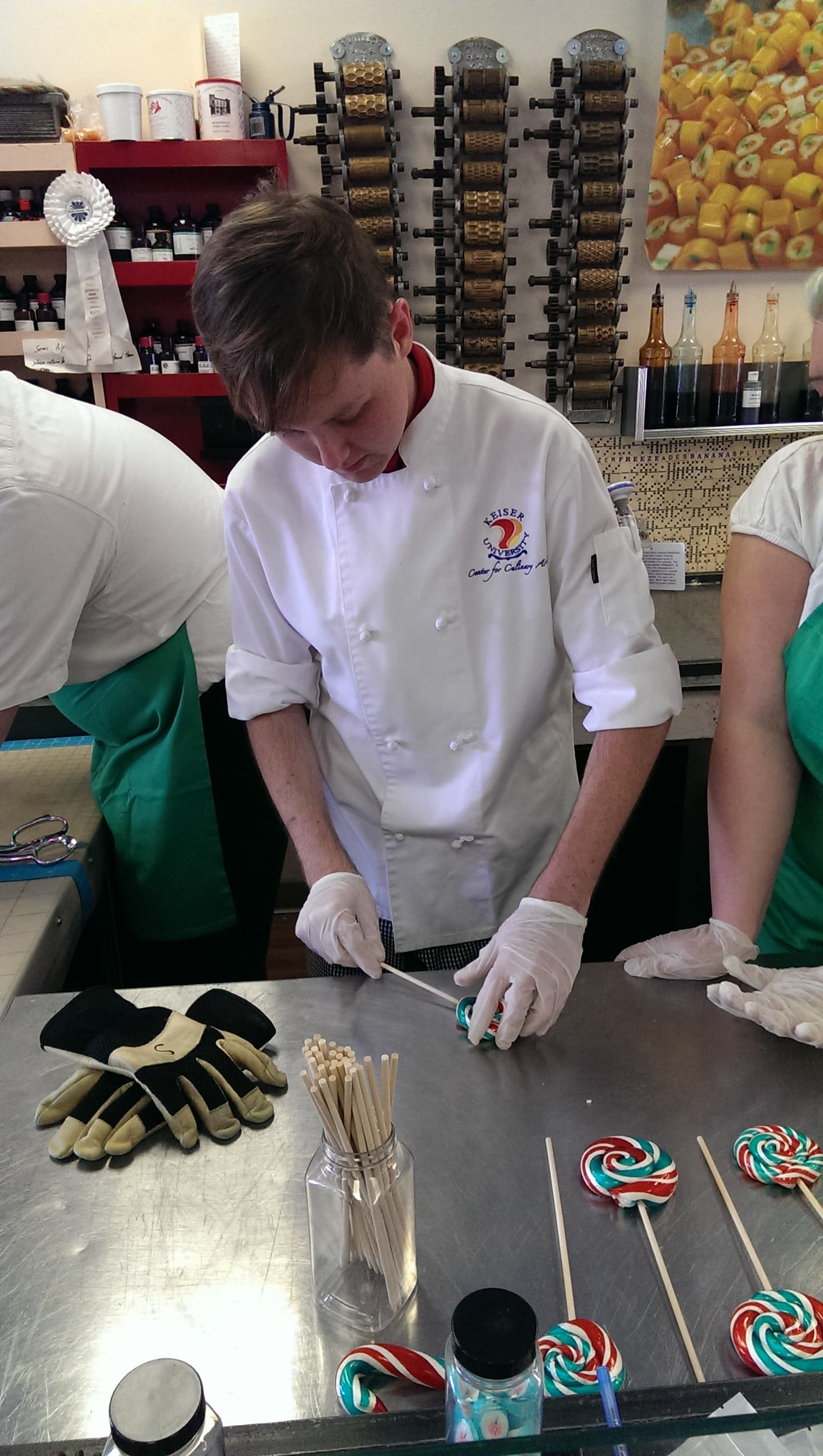 Tallahassee Culinary Students Visit Lofty Pursuits
