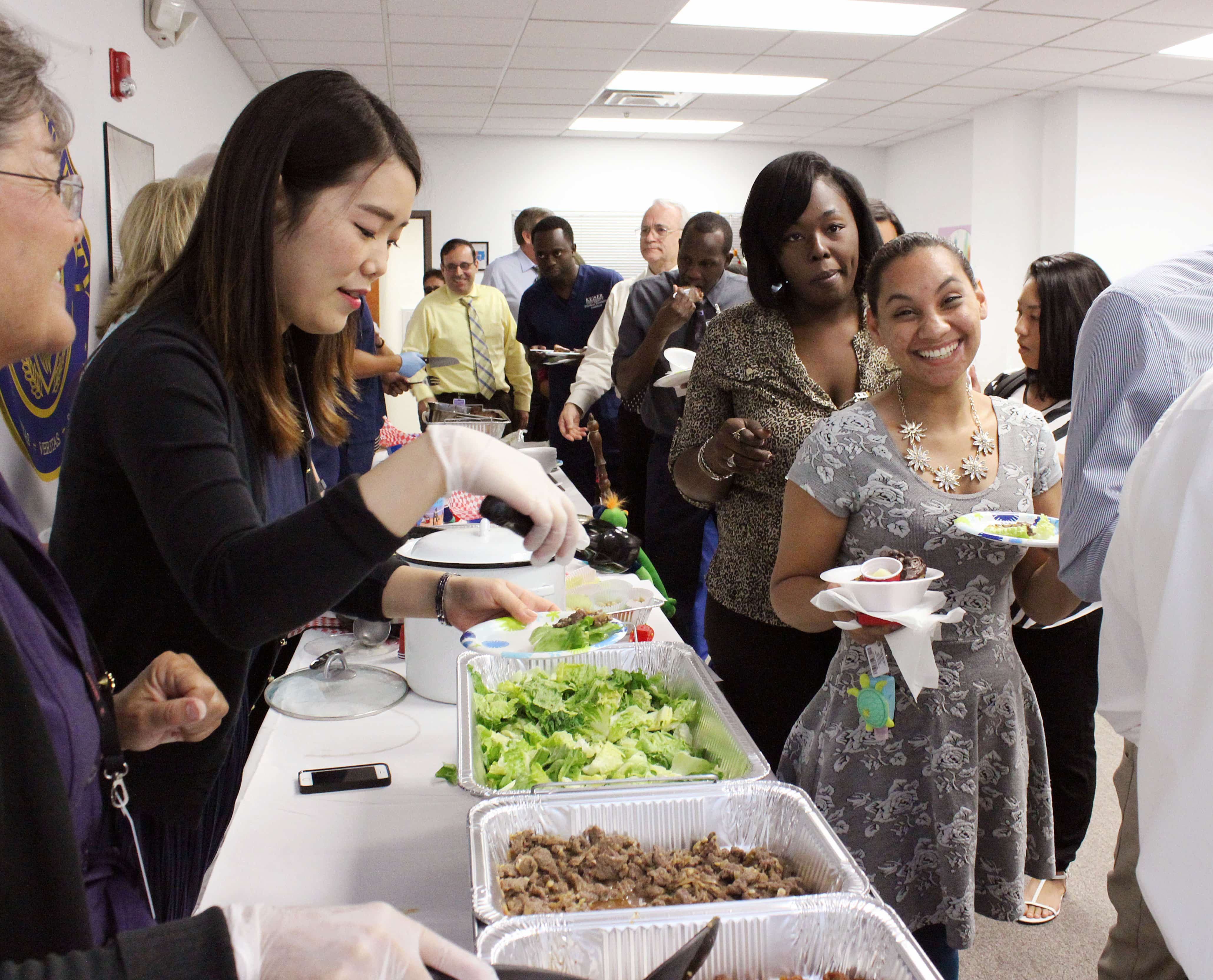 The West Palm Beach Campus Holds a Multicultural Day