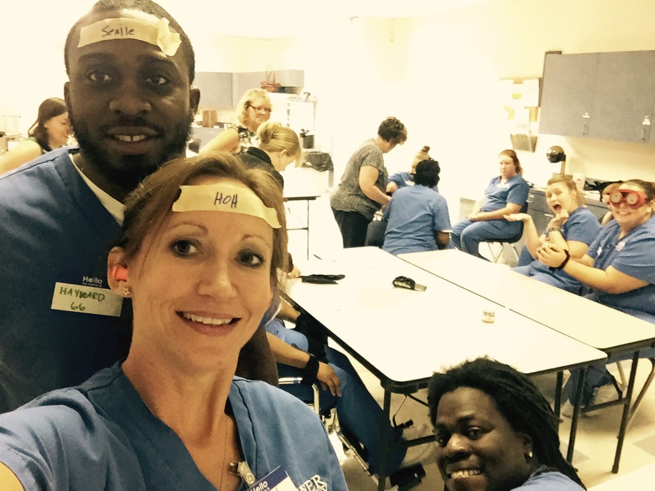 Tallahassee OTAs Explore Aging through Simulation