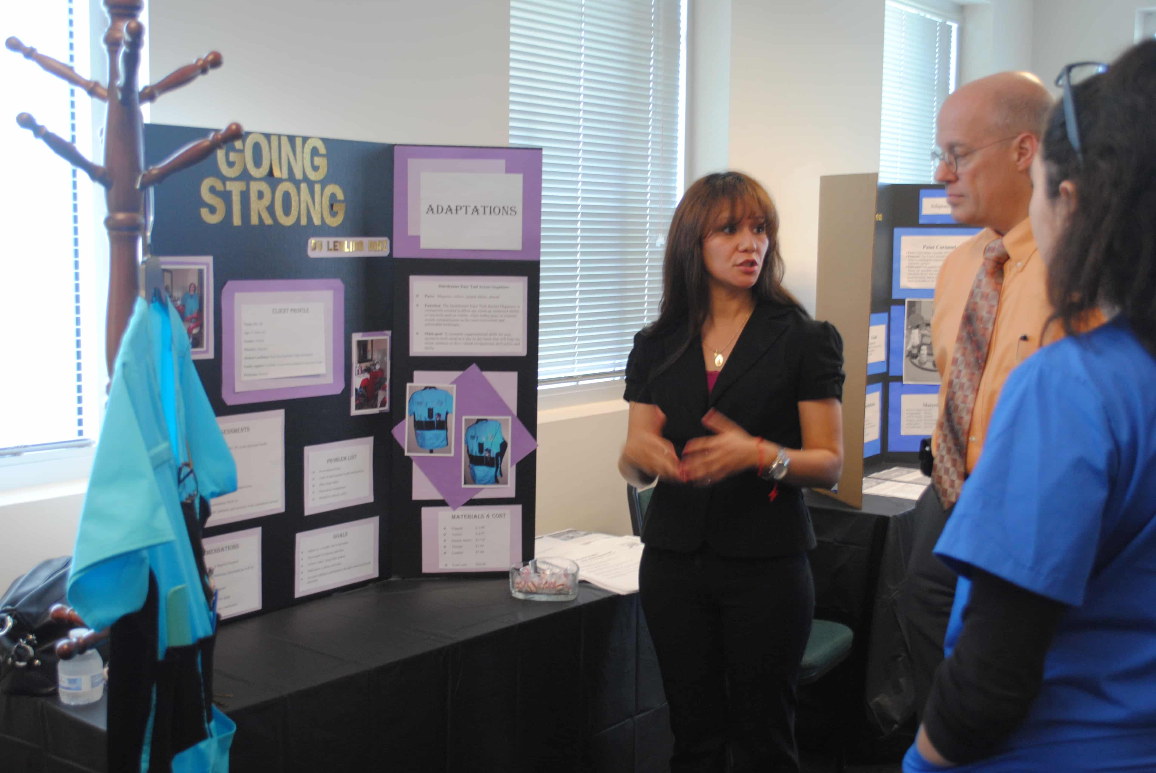 "Occupational Therapy Assistant Students Work on ""Still Going Strong"" Project"