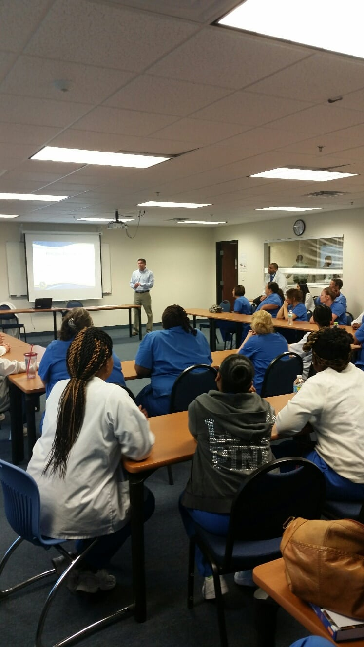 The Jacksonville Campus Holds an Occupational Therapy Assistant Core Day