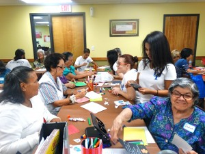 PSY students at senior center July 2015 (2)