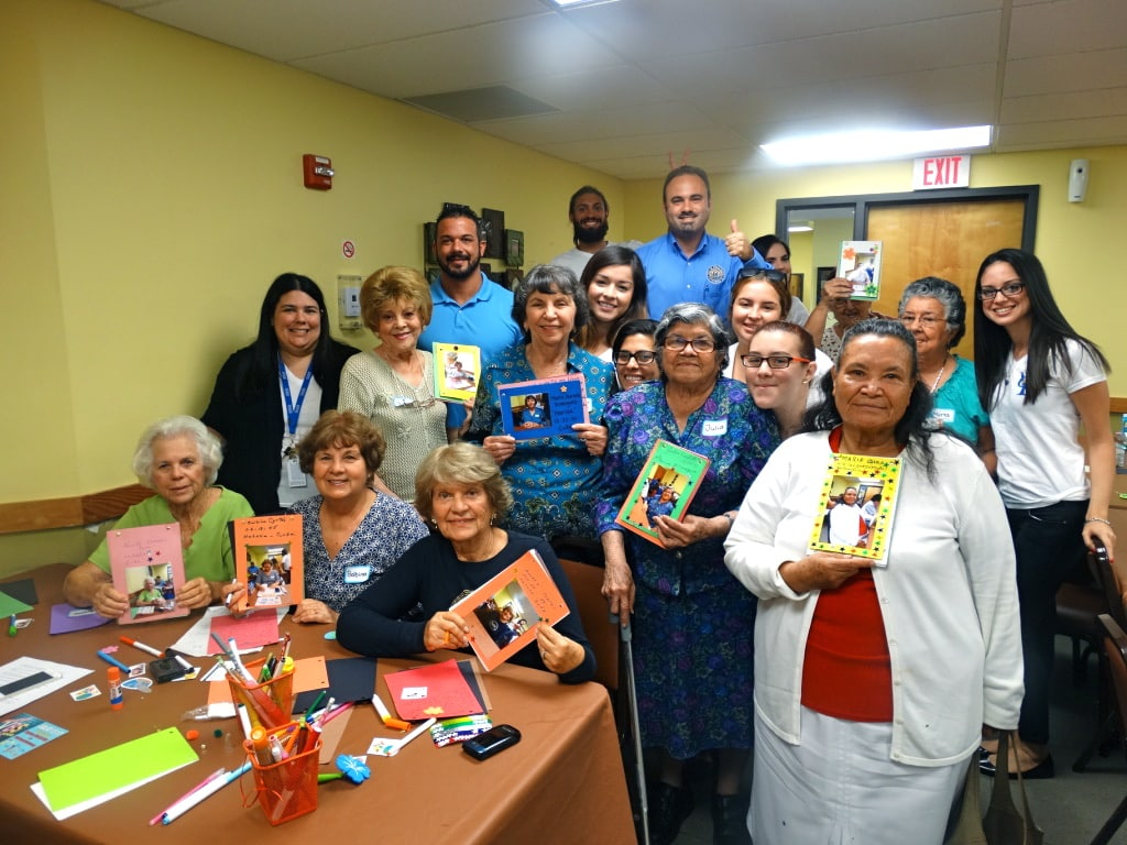 Psychology Students from the Miami Campus Visit a Local Senior Center