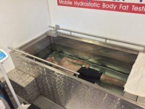 SMFT Hydrostatic Weighing experience  July 2015 (2)