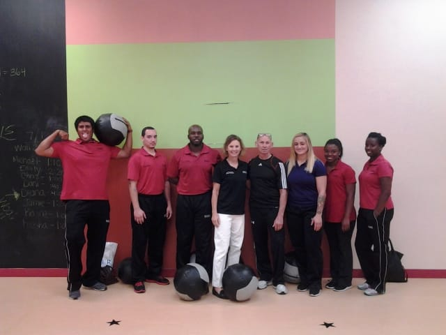 Sports Medicine and Fitness Technology Students from the COGSM Get a Physical Education