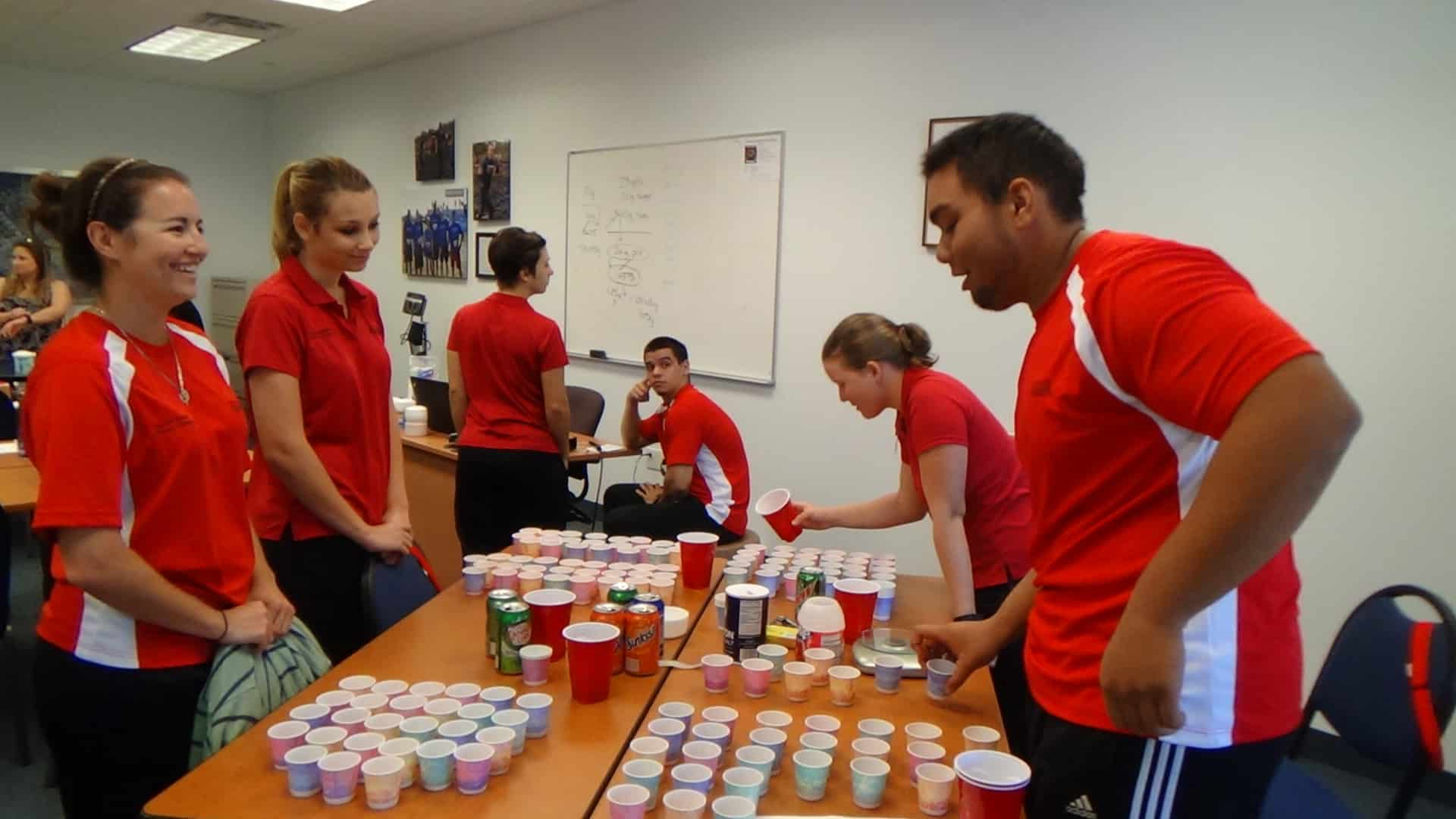 Fort Myers Sport Medicine & Fitness Technology Students Examine Chemical Makeup of Sport Drinks
