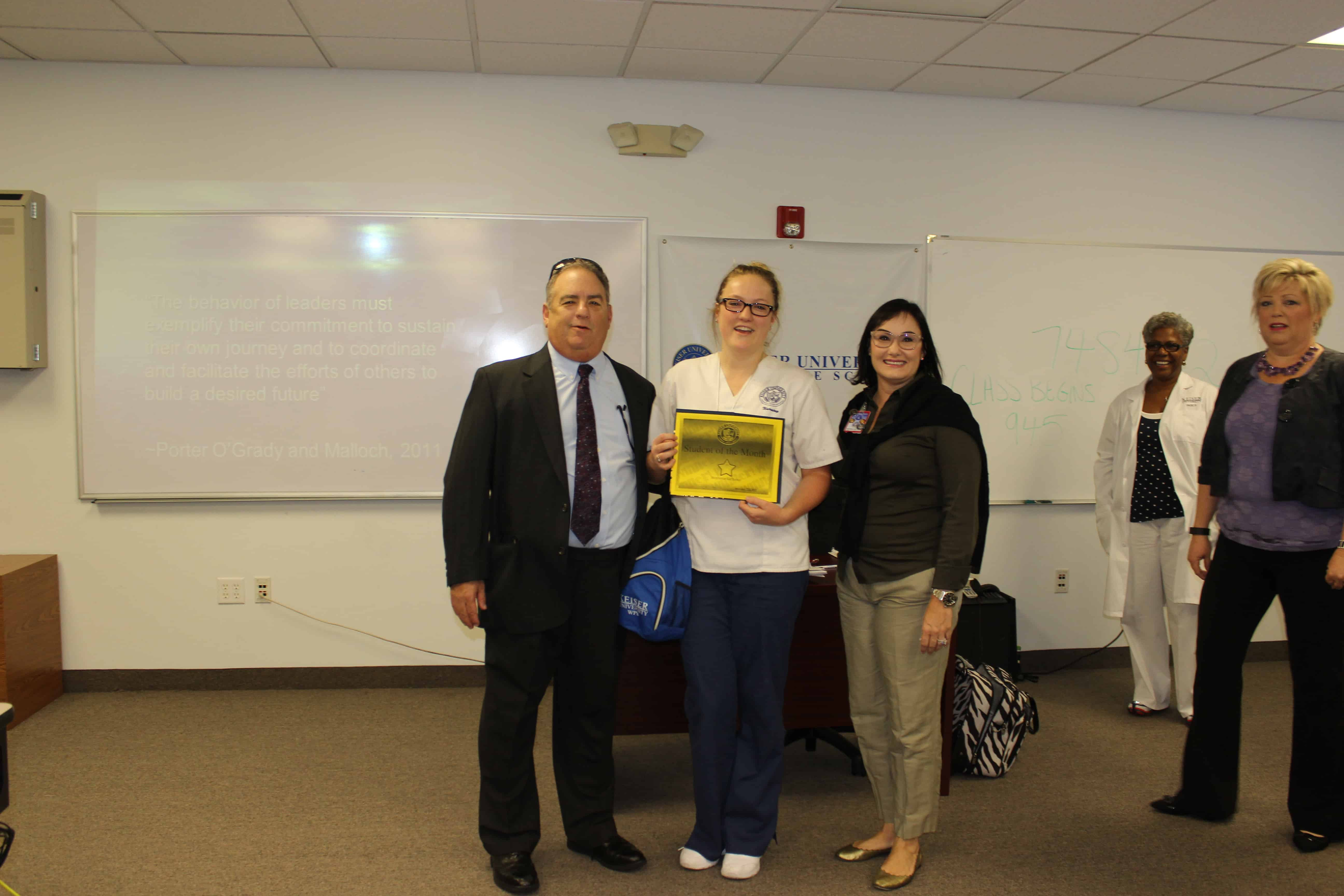 West Palm Beach Bestows the Student of the Month Award for July