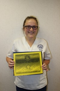 Student of the Month July 2015 (2)