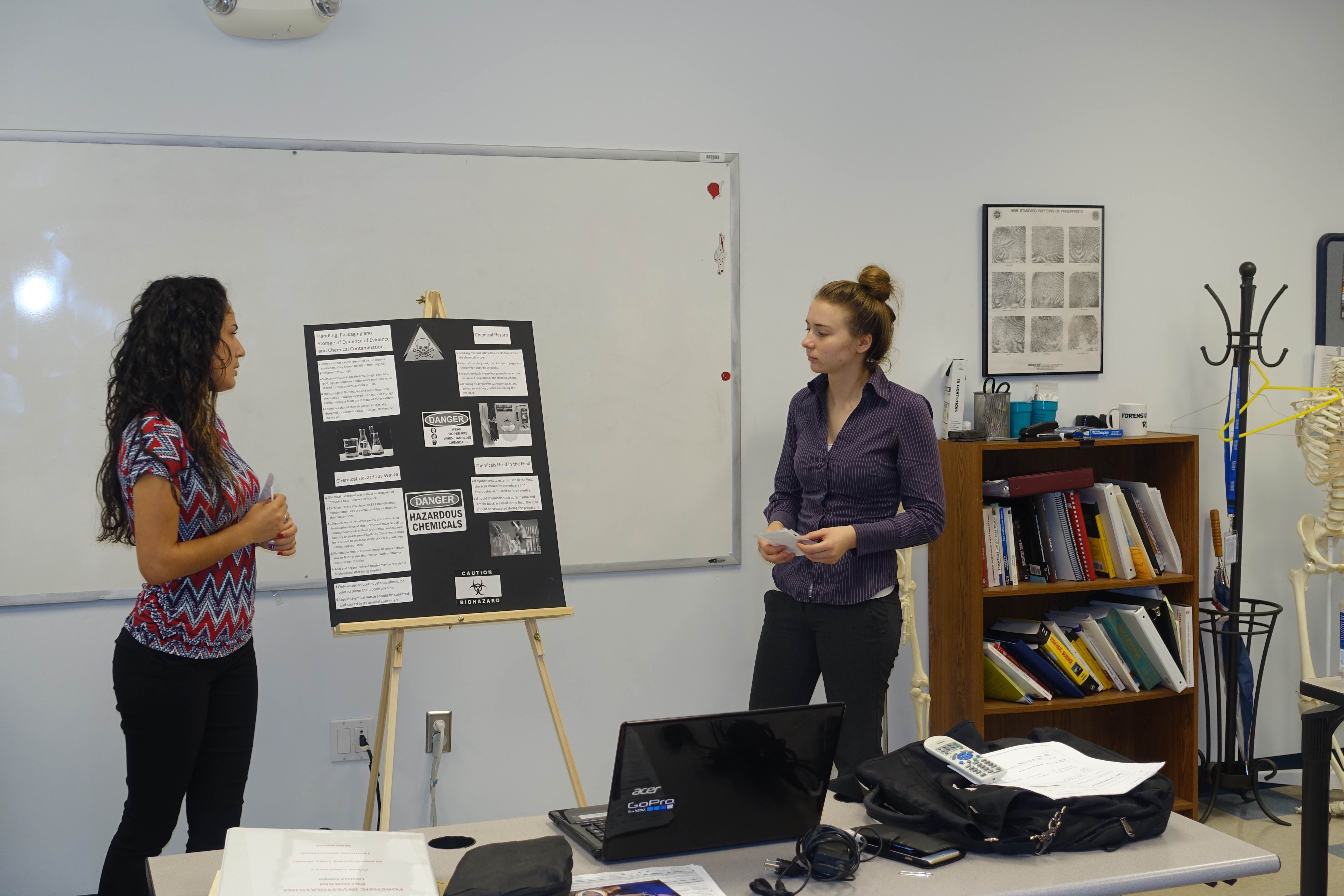 Forensic Investigation Students in Lakeland Share Lessons Learned