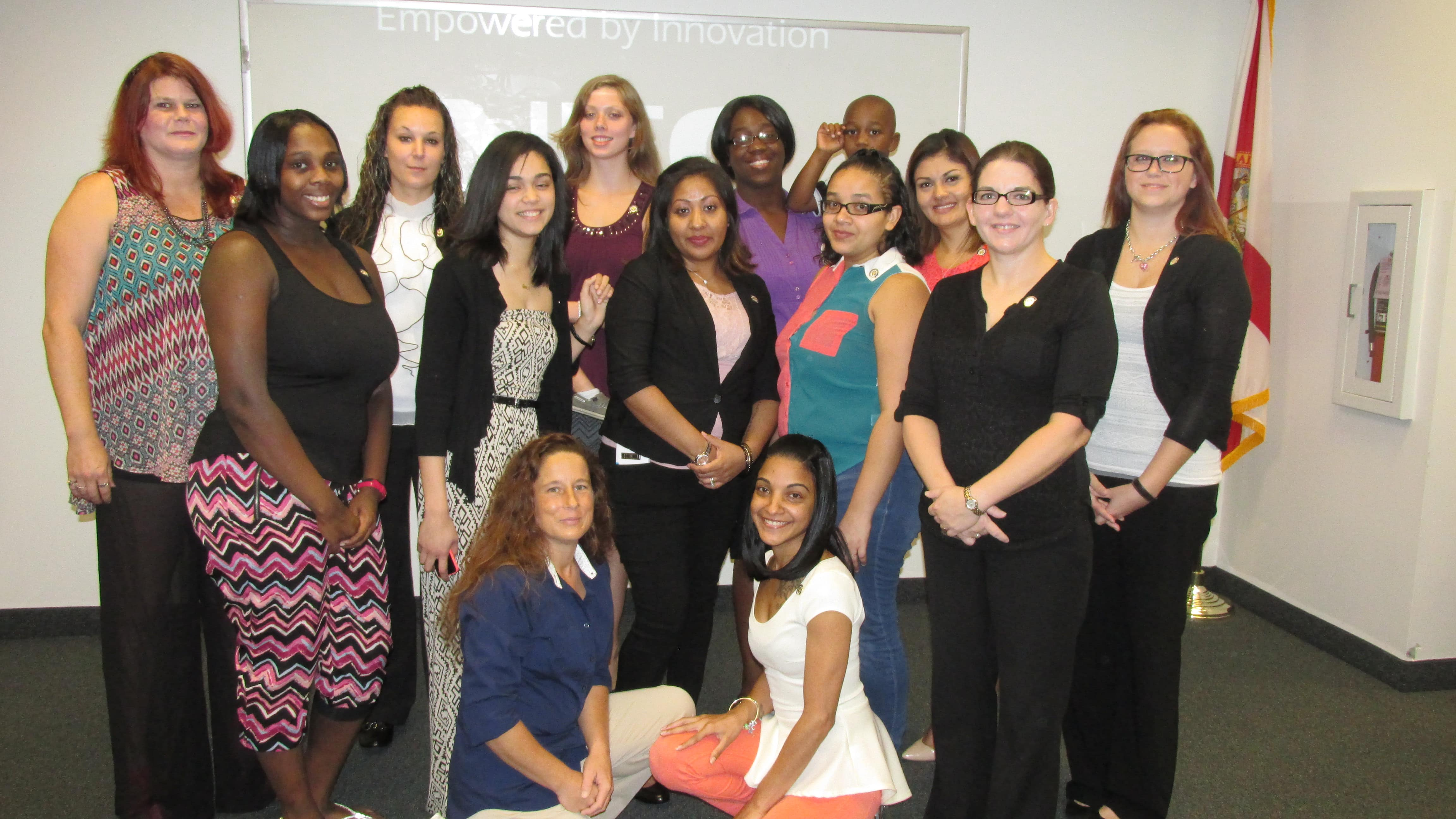 The Lakeland Campus Holds a Pinning Ceremony for Medical Assisting Students