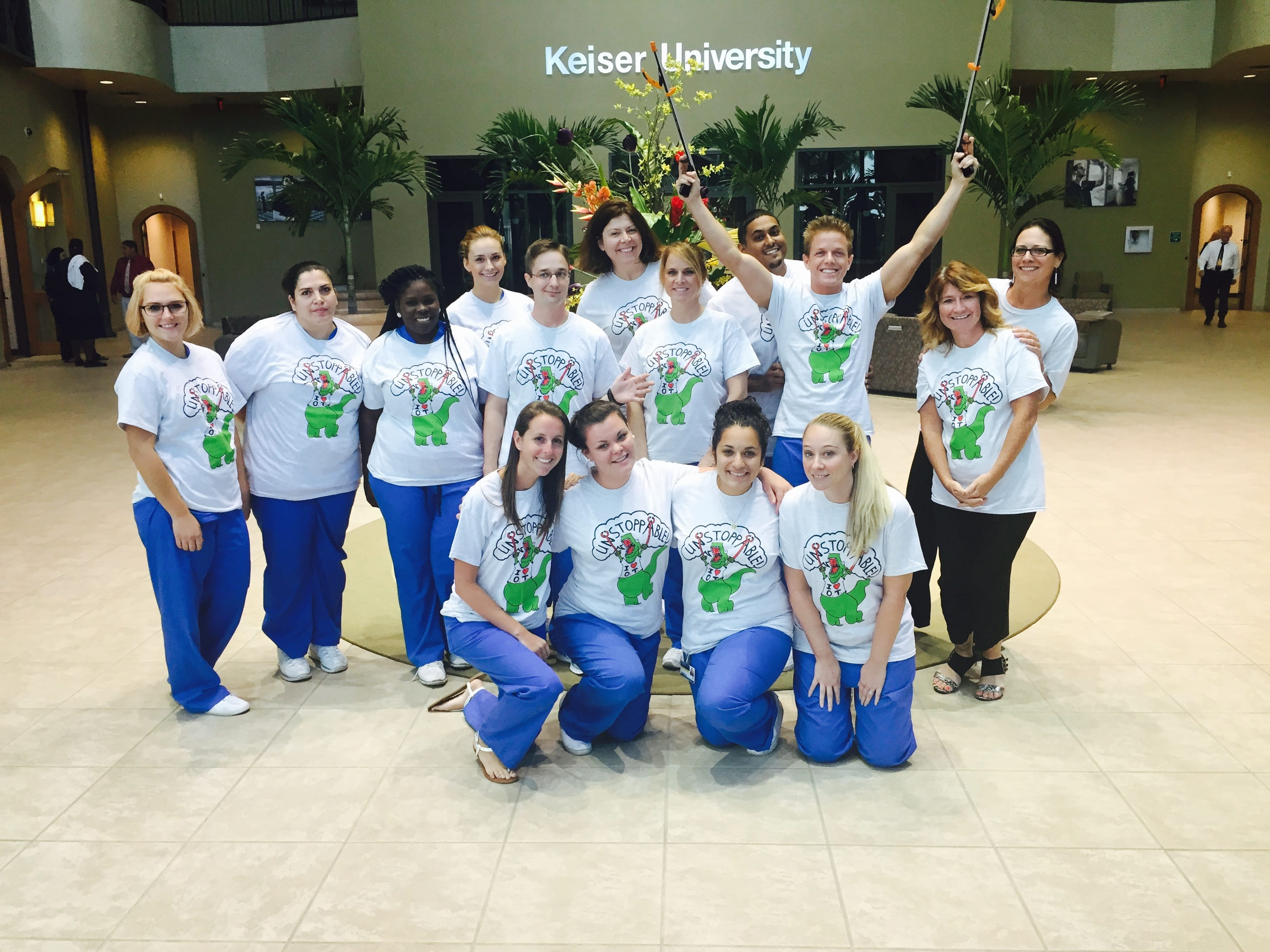 Tampa's OTA Students Raise funds for Charity