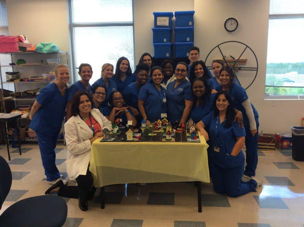 Occupational Therapy Assistant Students in Pembroke Pines Get Creative
