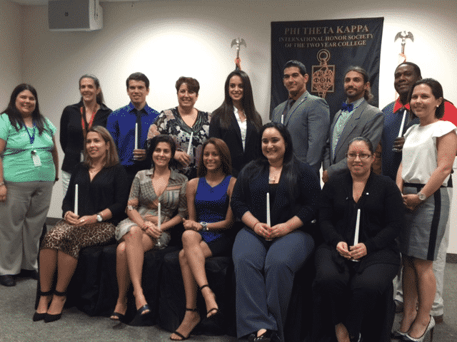 Miami Inducts a New Chapter of Phi Theta Kappa Beta Xi Theta