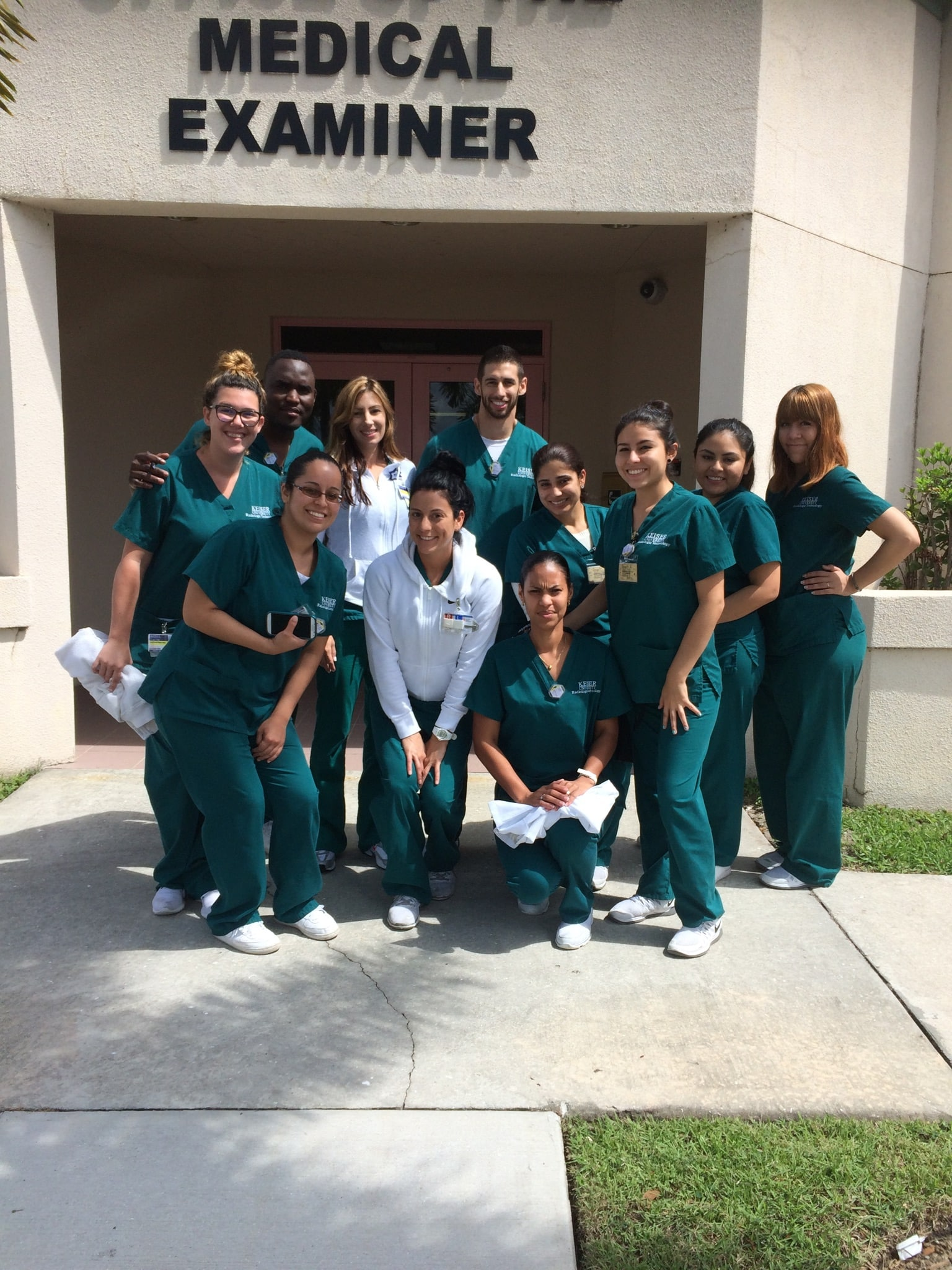 West Palm Beach RT Students Visit the Medical Examiner's Office