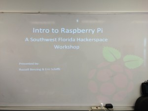 Raspberry Pi workshop Aug. 2015 (2)