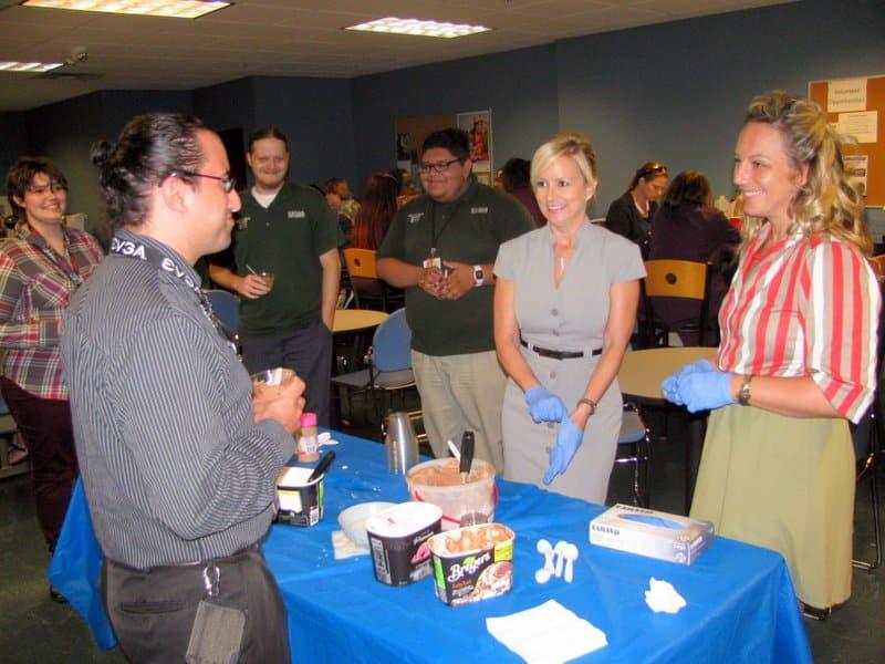 Port St. Lucie Holds an Ice Cream Social