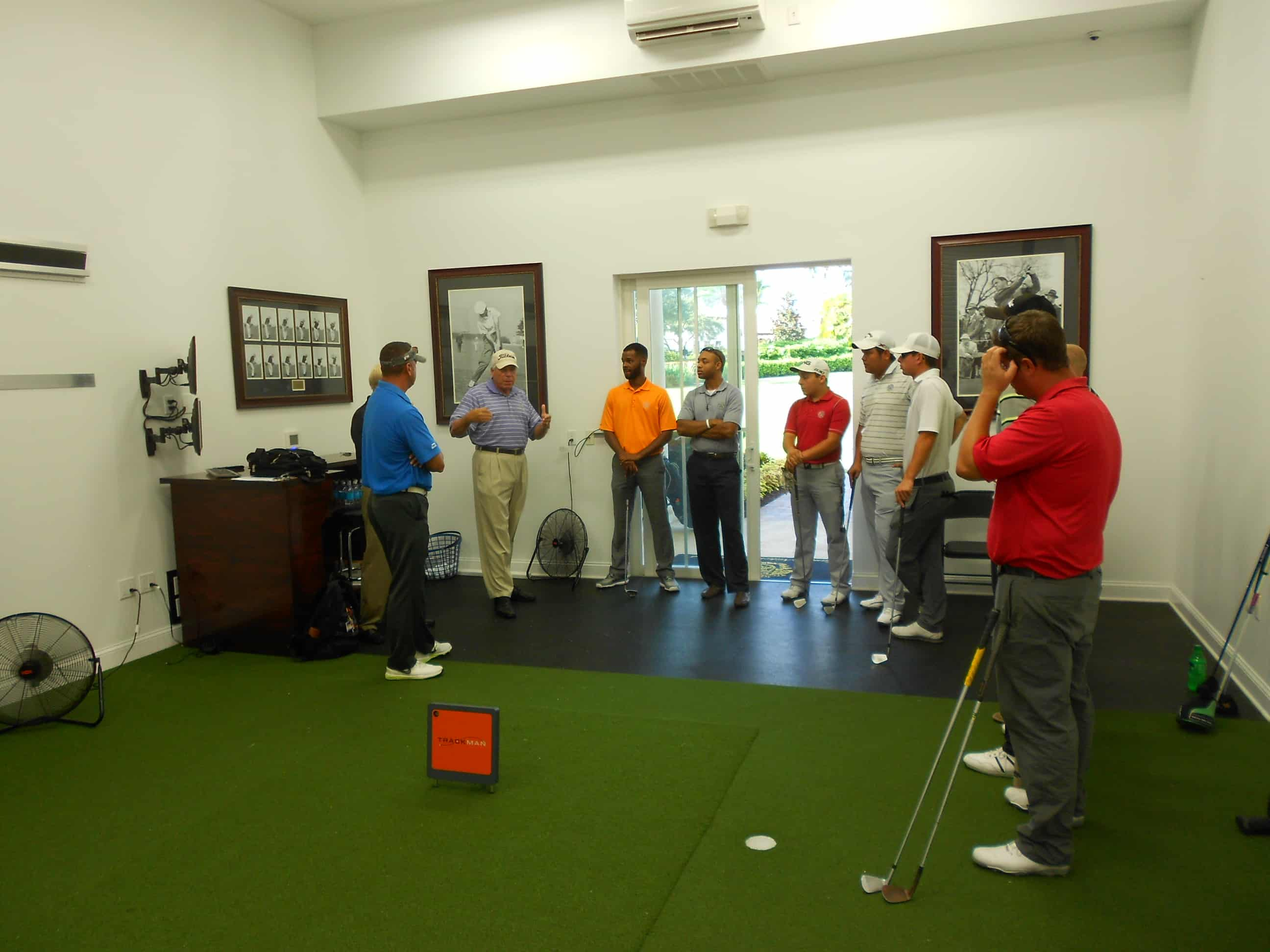 AUGUST IS NATIONAL GOLF MONTH!!  College of Golf & Sport Management Students Hosted at Trump National Golf Club