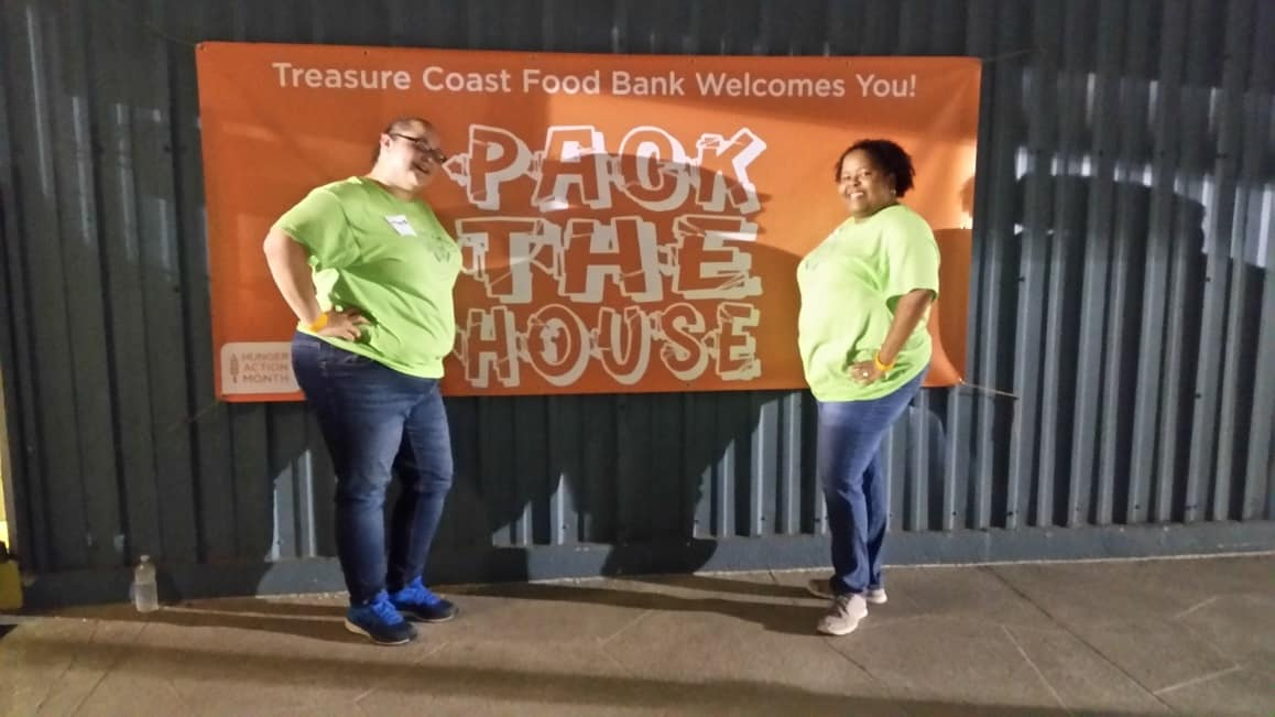 "Port St. Lucie Helps ""Pack the House"""