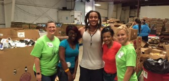 Food bank Sept. 2015