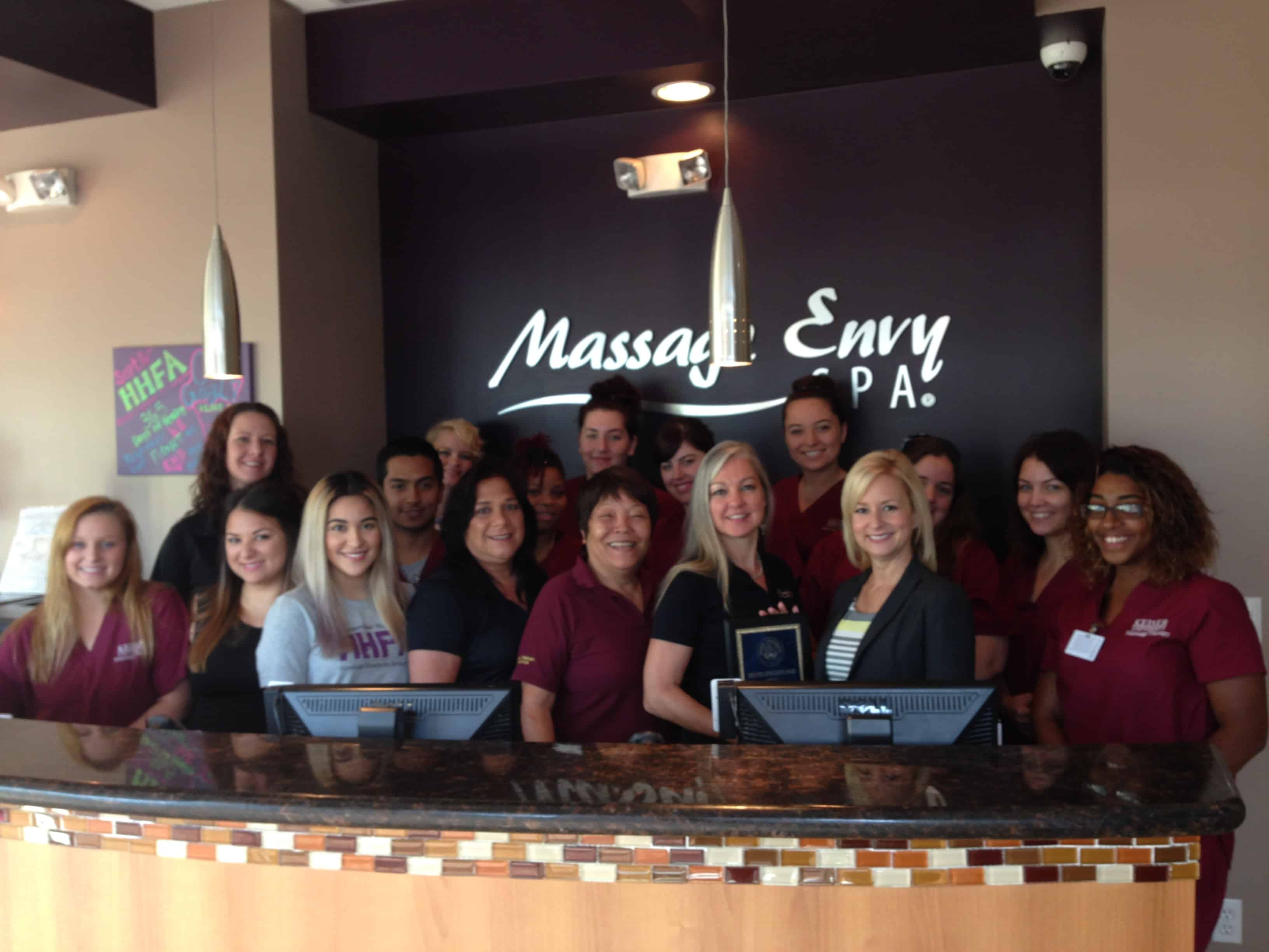The Port St. Lucie Campus Presents an Employer Award to Massage Envy of Stuart