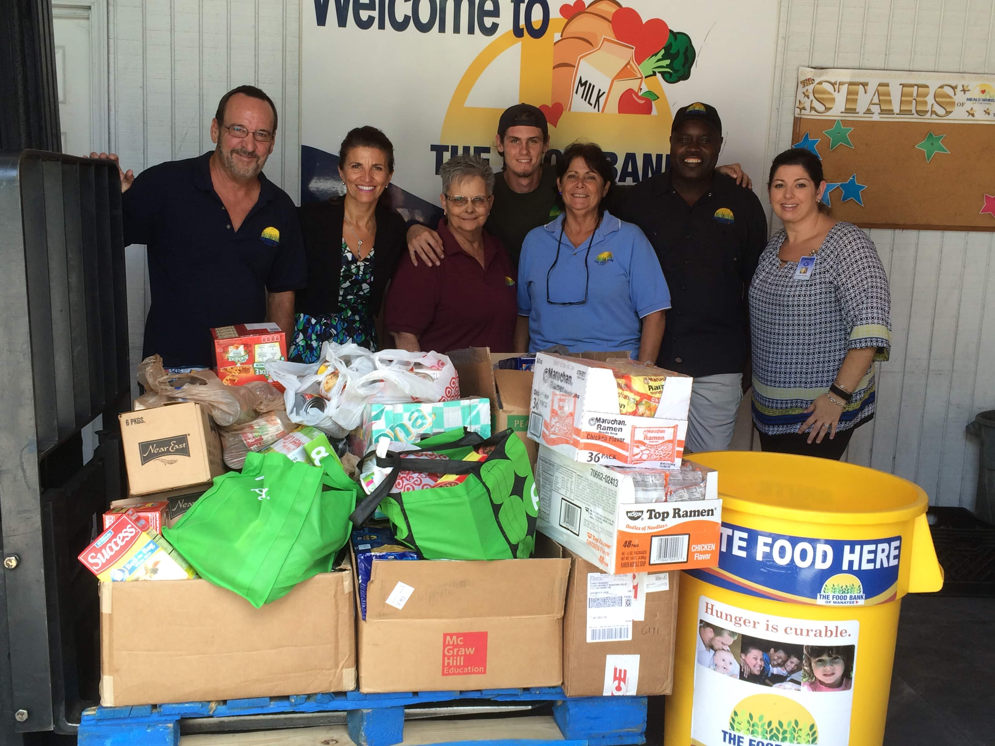 The Sarasota Campus Makes a Significant Donation to Meals on Wheels