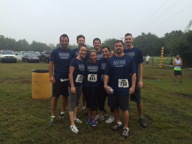 Lakeland Participated in the Mud Titan Obstacle Race