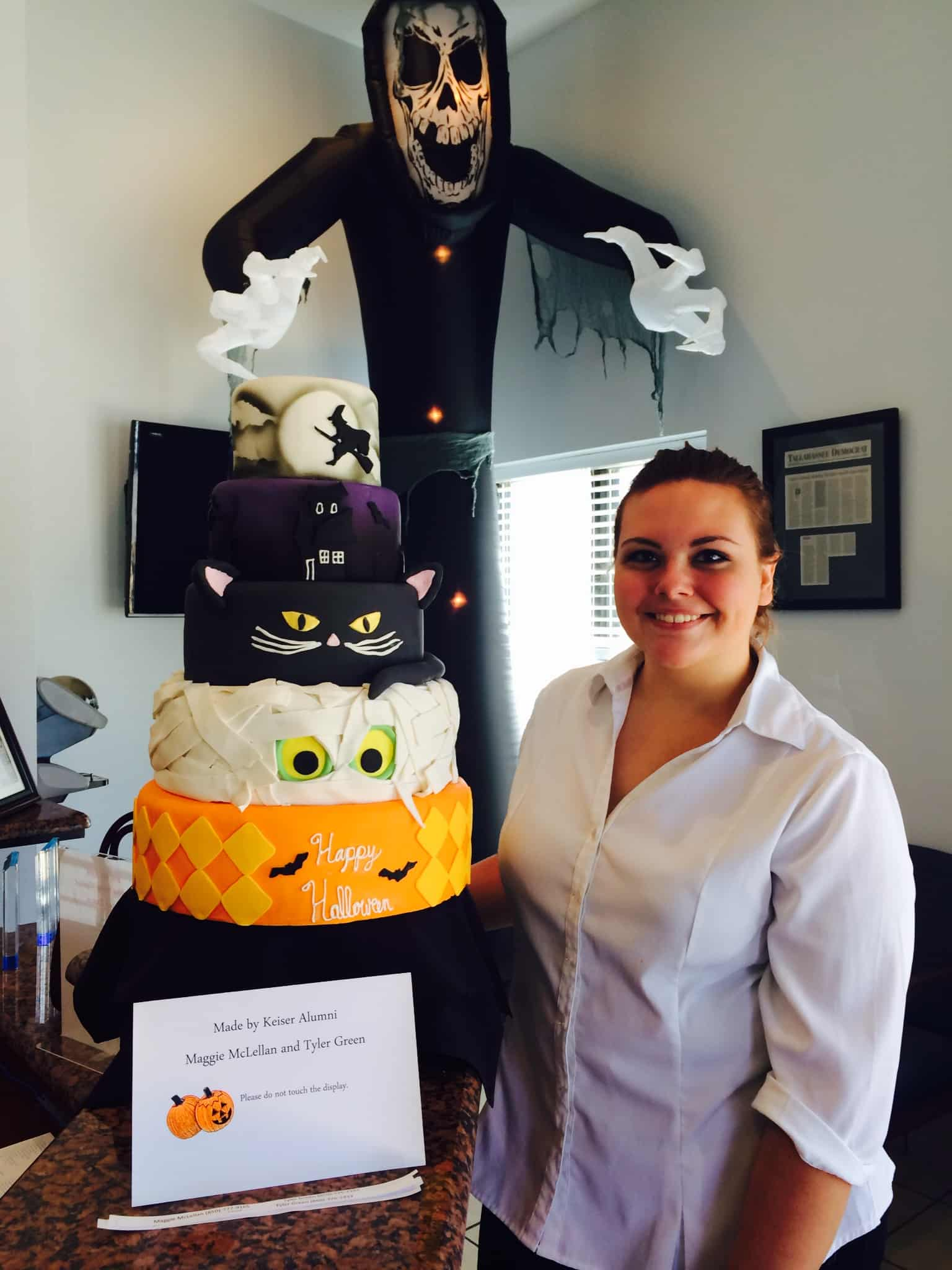 Tallahassee Culinary Student is Ready for Halloween