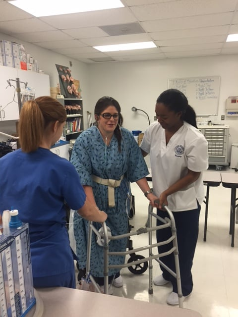Nursing and OTA Students Collaborate in Tallahassee