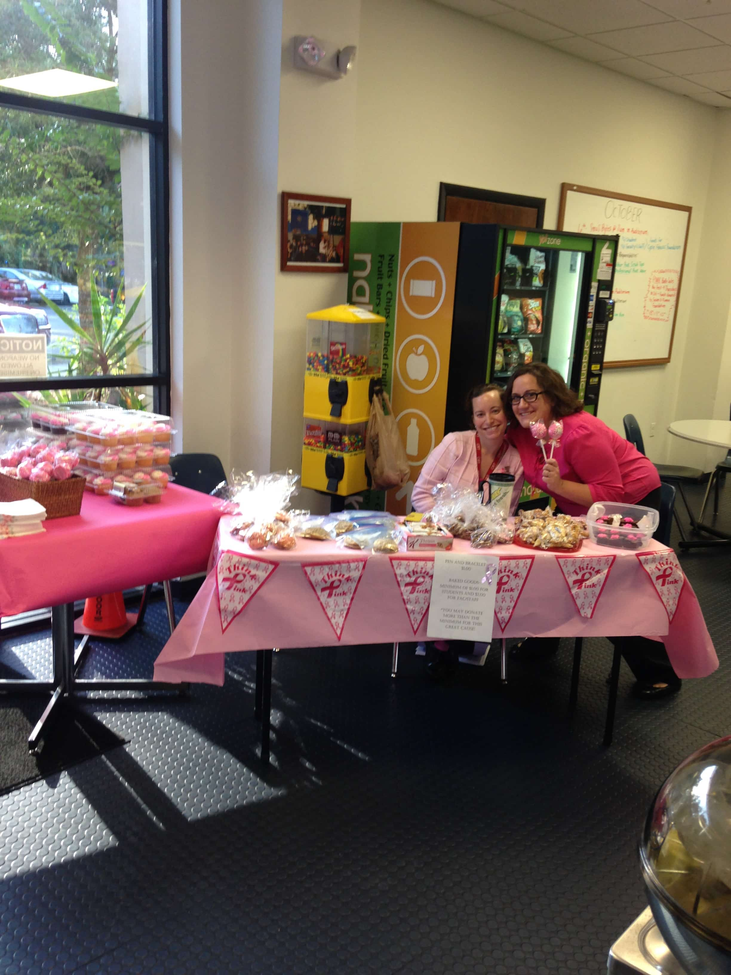 The Daytona Campus Raises Money for Breast Cancer Awareness