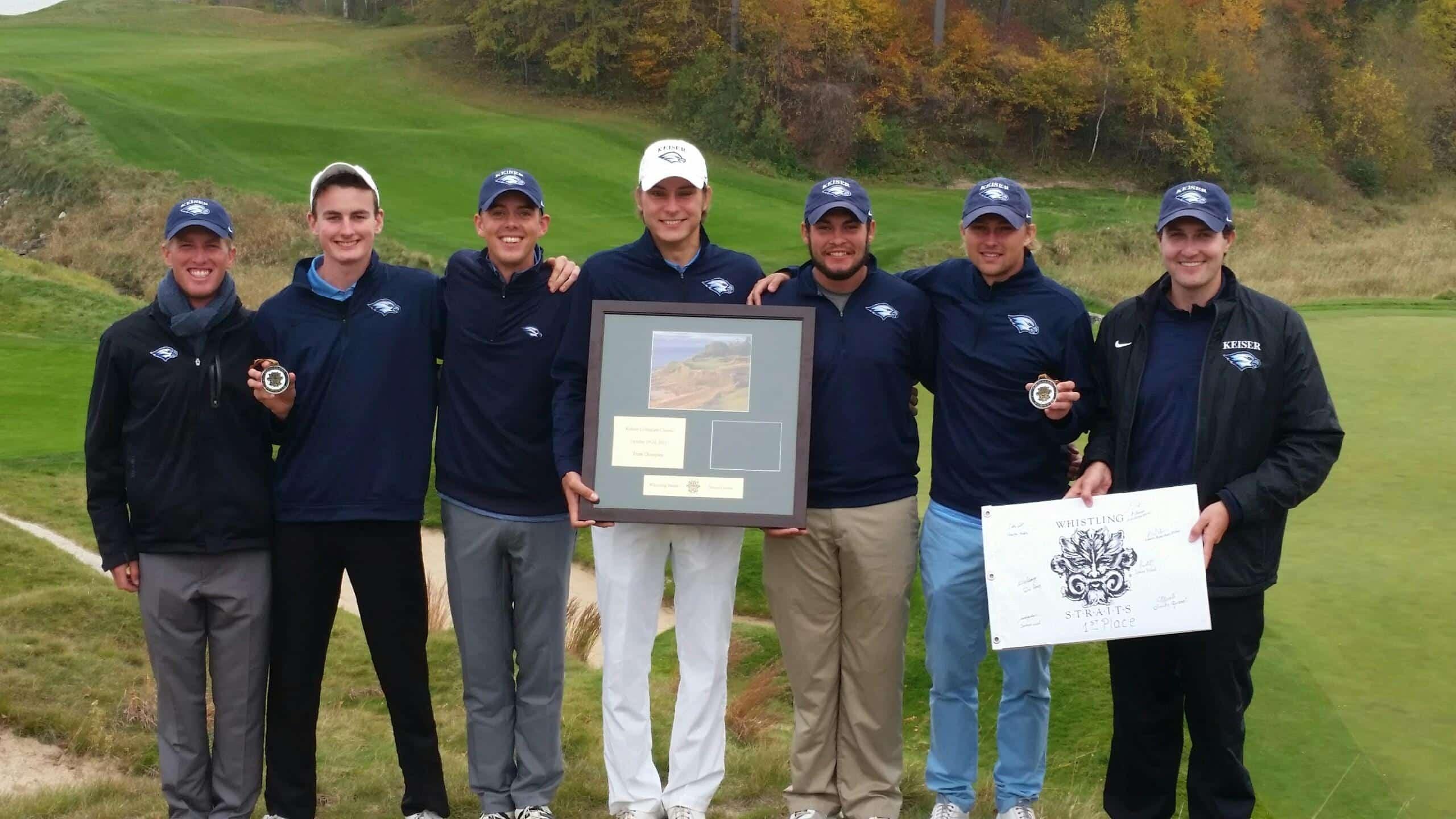 #12 Seahawks Men's Golf Team Wins the Kohler Classic