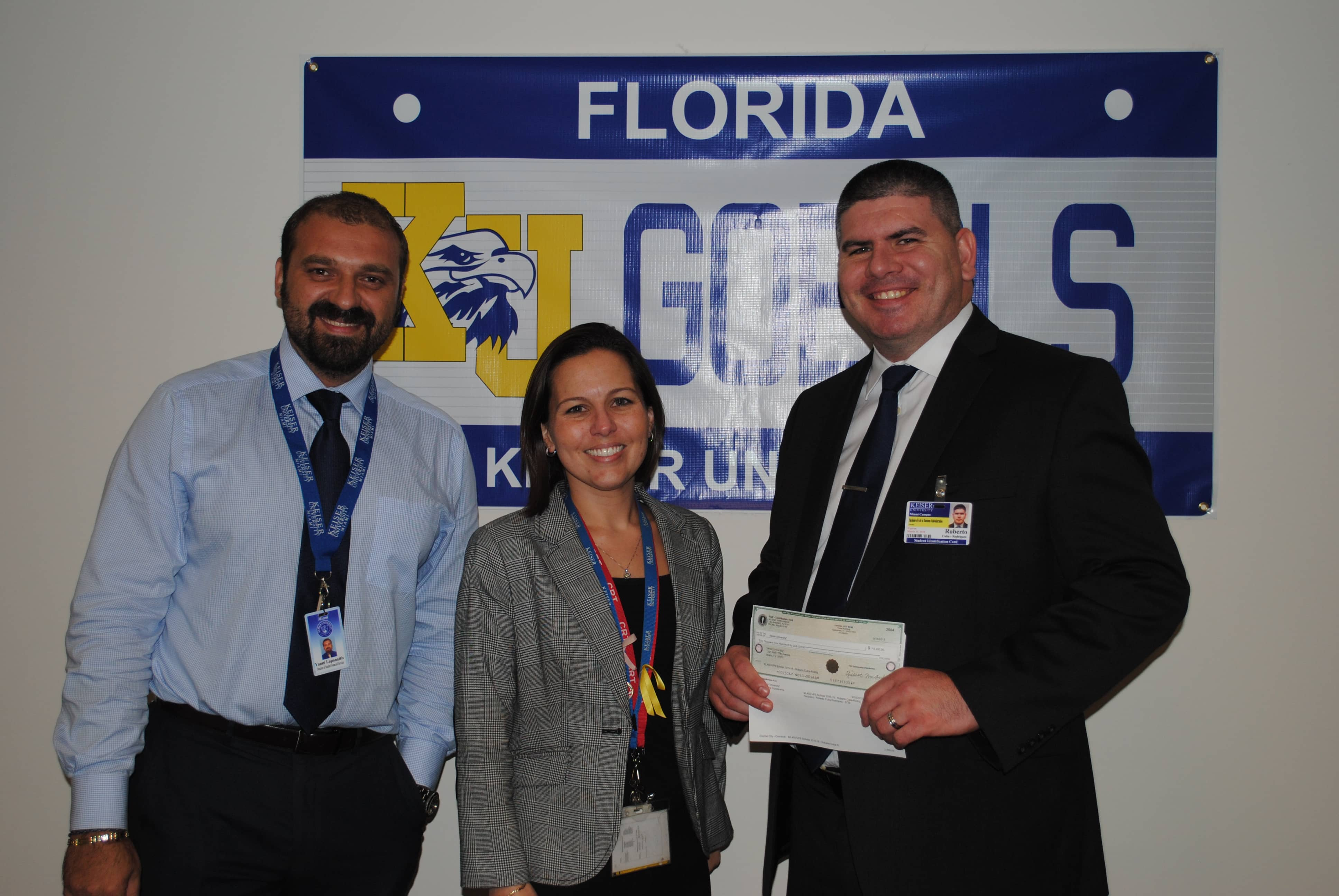 Student From the Miami Campus Receives the UPS Scholarship