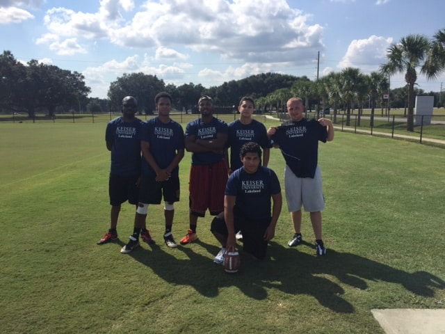 Lakeland Plays Polk State College in Flag Football