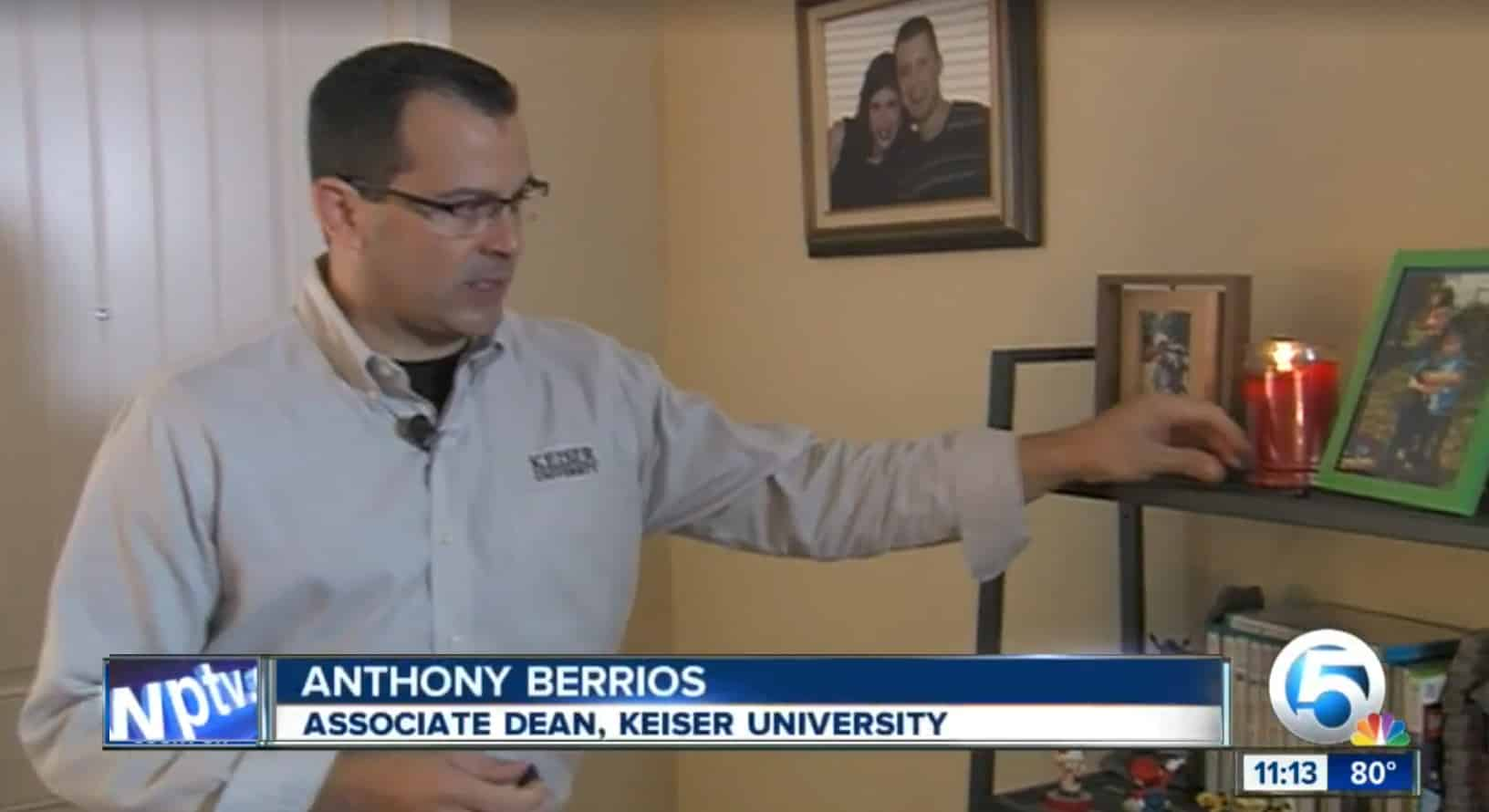 West Palm Beach Campus Expert Shares Valuable Home Security Tips with NBC
