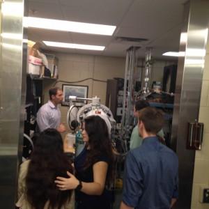 Biomed students at USF Nov. 2015