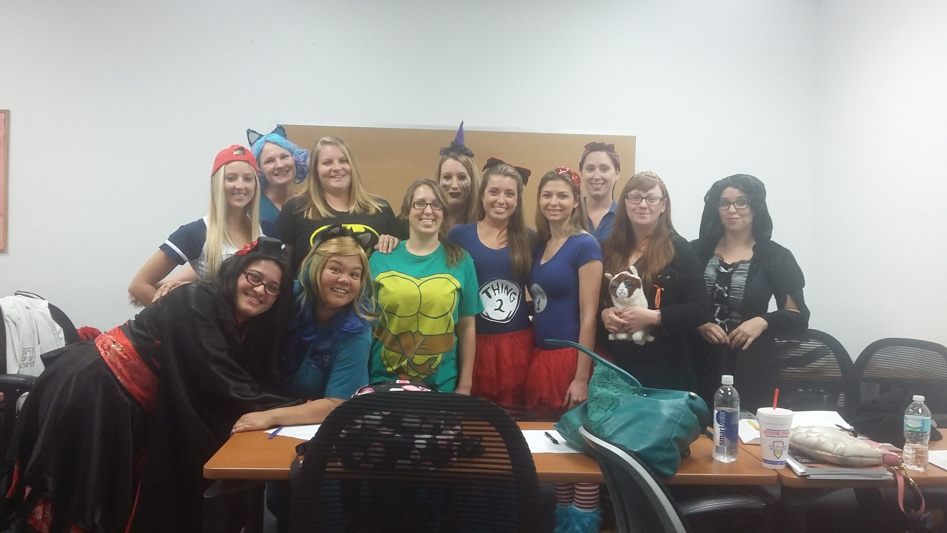 Diagnostic Medical Sonography Students in Melbourne get in the Halloween Spirit