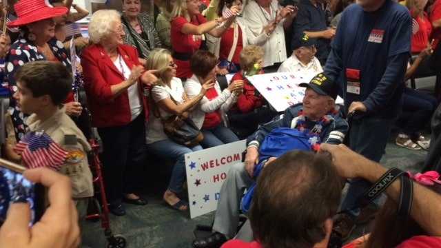 Ft. Lauderdale Helps to Honor WWII Veterans